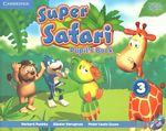 Super Safari Level 3 Pupil's Book with DVD-Rom by Herbert Puchta